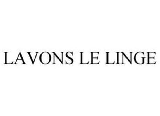 LAVONS LE LINGE