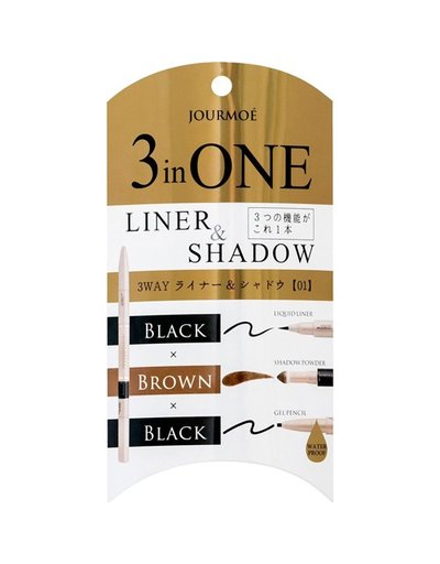 OTHERS Jules Mohye 3 way liner & shadow 01 black三用眼影眼線筆