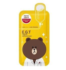 MEDIHEAL Mediheal x LINE Friends E.G.T Ampoule Mask EGT修護面膜單片