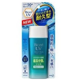 Biore Sunscreen 耐久型防曬霜 water gel Spf50+PA++++ 90ML
