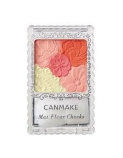 CANMAKE CANMAKE花瓣雕刻五色腮紅啞光03號