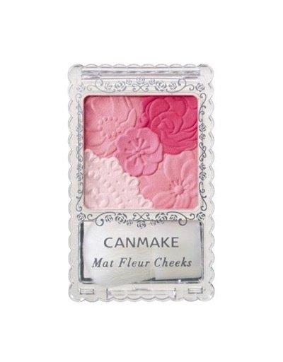 CANMAKE CANMAKE花瓣雕刻五色腮紅啞光02號