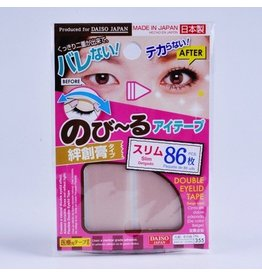 DAISO NATURAL DOUBLE EYELID NUDY TAPE SLIM 86 PCS