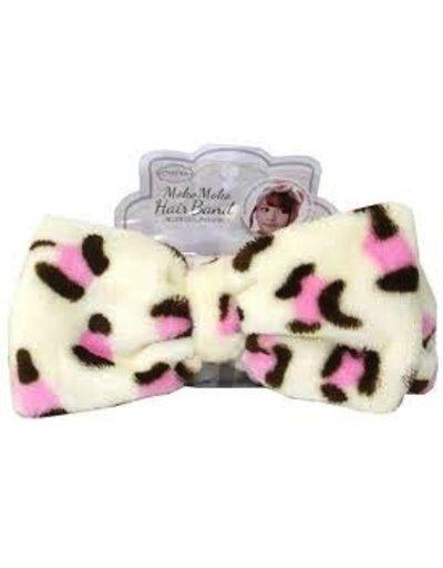 OTHERS 粉紅豹紋髮帶