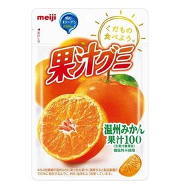 MEIJI 明治果汁QQ軟糖(柑橘)51g