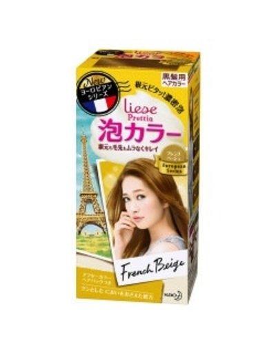 KAO花王 花王Prettia泡沫染髮膏法國米色