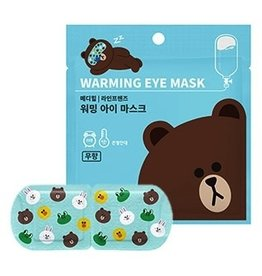 MEDIHEAL LINE FRIENDS 熊大熱感舒緩眼罩(無香味)10片入