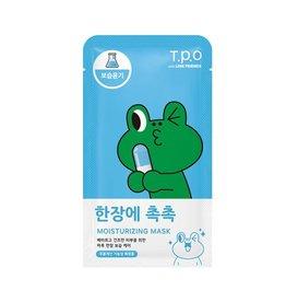 OTHERS 韓國TPO-LINE聯名面膜(保濕-蛙蛙)21ml