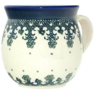 Ceramika Artystyczna Bubble Cup Small Lacework Green