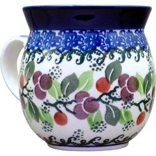 Ceramika Artystyczna Bubble Cup Small Cranberry Vine
