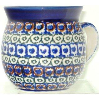 Ceramika Artystyczna Bubble Cup Small Mosaic Hearts