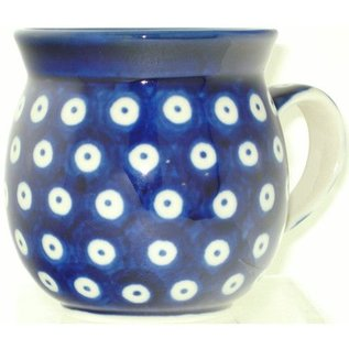 Ceramika Artystyczna Bubble Cup Small Royal Blue