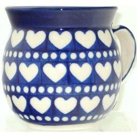 Ceramika Artystyczna Bubble Cup Small Hearts Aplenty