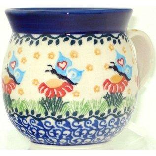 Ceramika Artystyczna Bubble Cup Small Butterfly Love