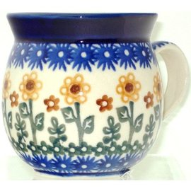 Ceramika Artystyczna Bubble Cup Small Summer Sunflower