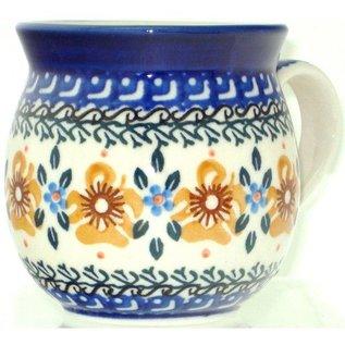 Ceramika Artystyczna Bubble Cup Small Golden Amber