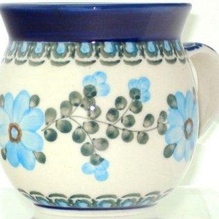 Ceramika Artystyczna Bubble Cup Medium Rose Turquoise