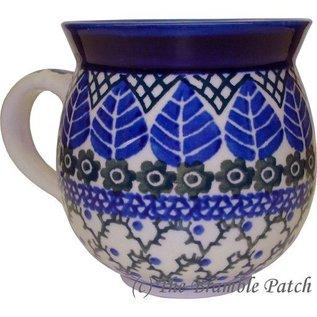 Ceramika Artystyczna Bubble Cup Medium Blue Spruce