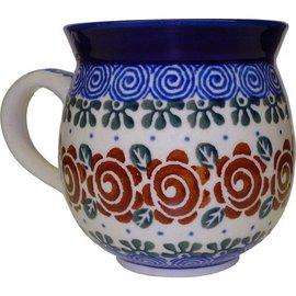 Ceramika Artystyczna Bubble Cup Medium Lady Godiva Auburn