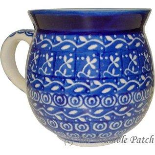 Ceramika Artystyczna Bubble Cup Medium Blue Silk
