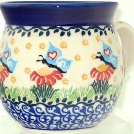Ceramika Artystyczna Bubble Cup Medium Butterfly Love