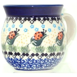 Ceramika Artystyczna Bubble Cup Small Ladybug