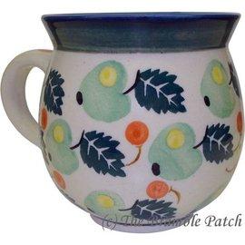 Ceramika Artystyczna Bubble Cup Medium Green Apples