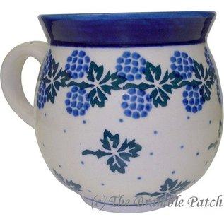 Ceramika Artystyczna Bubble Cup Medium Blackberry Leaf