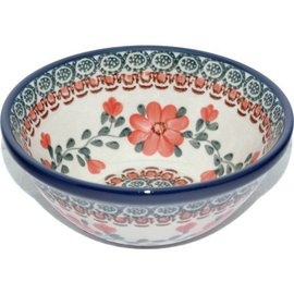 Ceramika Artystyczna Kitchen Bowl Size 1 Rose Tangerine