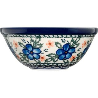 Ceramika Artystyczna Kitchen Bowl Size 1 Apple Blossom Blue
