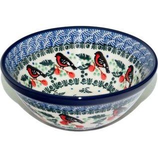 Ceramika Artystyczna Kitchen Bowl Size 1 Holiday Robin