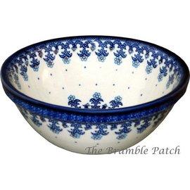 Ceramika Artystyczna Kitchen Bowl Size 1 Lacework Blue