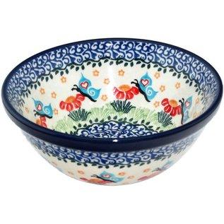 Ceramika Artystyczna Kitchen Bowl Size 1 Butterfly Love