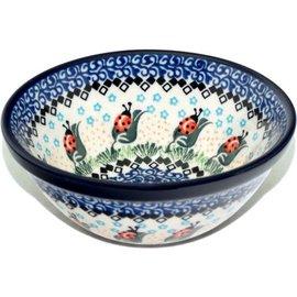 Ceramika Artystyczna Kitchen Bowl Size 1 Ladybug