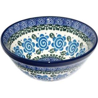 Ceramika Artystyczna Kitchen Bowl Size 2 Lady Godiva Blue
