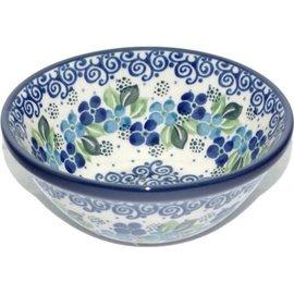 Ceramika Artystyczna Kitchen Bowl Size 2 Blue Chiffon