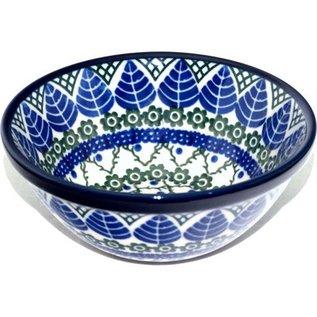 Ceramika Artystyczna Kitchen Bowl Size 2 Blue Spruce