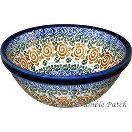 Ceramika Artystyczna Kitchen Bowl Size 2 Lady Godiva Auburn
