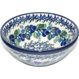 Ceramika Artystyczna Kitchen Bowl Size 2 Blueberry Vine