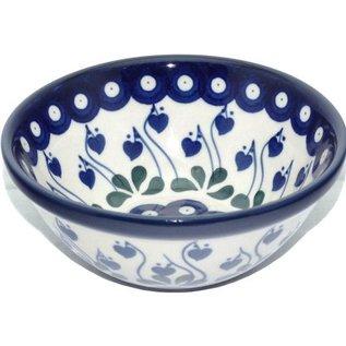 Ceramika Artystyczna Kitchen Bowl Size 2 Royal Hanging Hearts