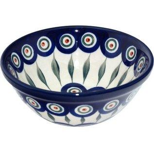 Ceramika Artystyczna Kitchen Bowl Size 2 Royal Peacock