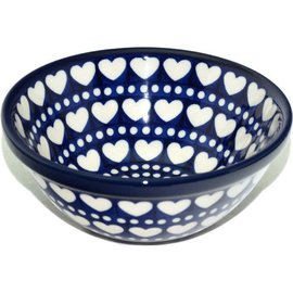 Ceramika Artystyczna Kitchen Bowl Size 2 Hearts Aplenty