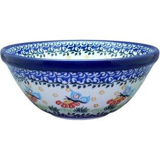 Ceramika Artystyczna Kitchen Bowl Size 2 Butterfly Love