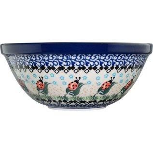 Ceramika Artystyczna Kitchen Bowl Size 2 Ladybug