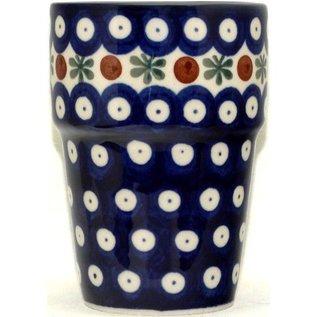 Ceramika Artystyczna Tumbler Small Royal Cranberry