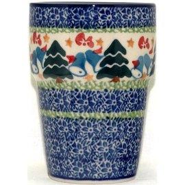 Ceramika Artystyczna Tumbler Small Winter Wonderland