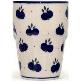 Ceramika Artystyczna Tumbler Small Double Blueberry