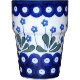 Ceramika Artystyczna Tumbler Small Royal Forget Me Not