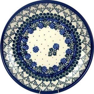 Ceramika Artystyczna Dinner Plate Blackberry Vineyard