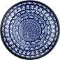 Ceramika Artystyczna Dinner Plate Blue Silk
